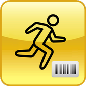 Inventory in warehouse icon