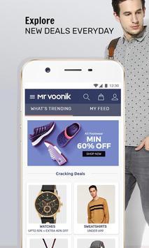 Mr Voonik - Online Shopping App poster