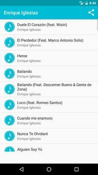 Enrique Iglesias Songs poster