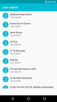 Juan Gabriel Songs poster