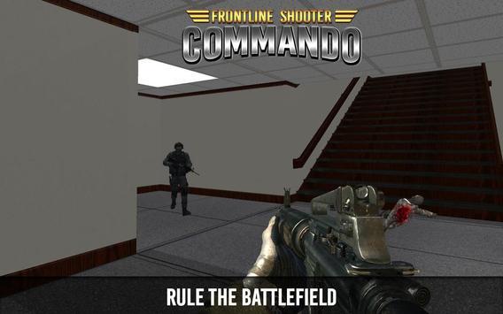 Frontline Shooter Commando poster