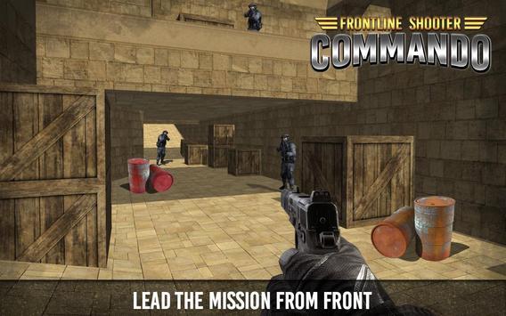 Frontline Shooter Commando apk screenshot