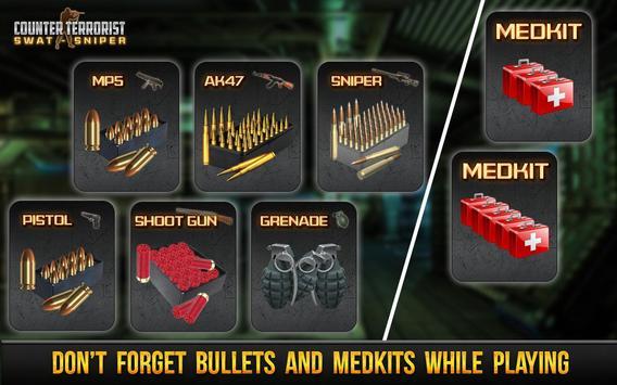 Counter Terrorist Swat Sniper apk screenshot
