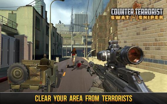 Counter Terrorist Swat Sniper poster