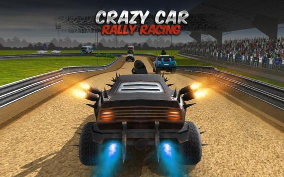 Crazy Car Rally Racing poster