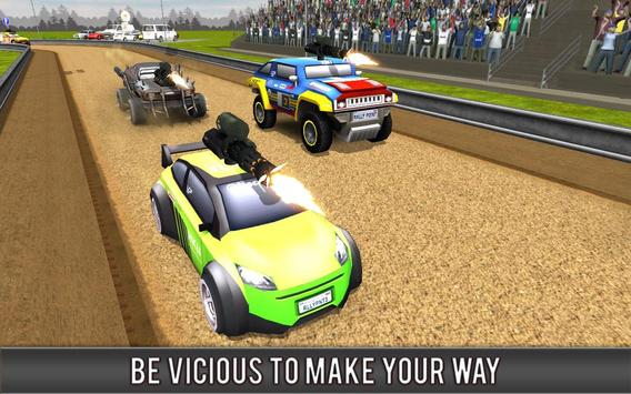 Crazy Car Rally Racing screenshot 14