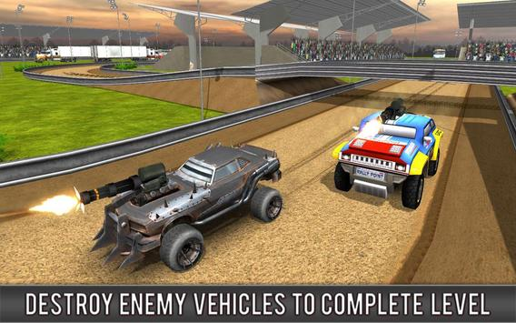 Crazy Car Rally Racing screenshot 1