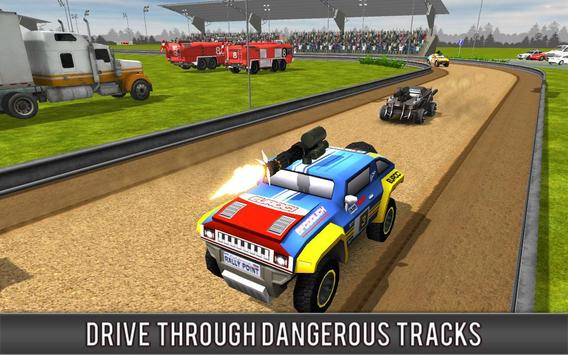 Crazy Car Rally Racing screenshot 3