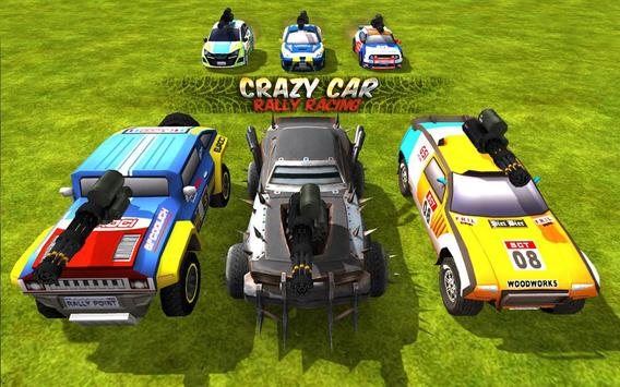 Crazy Car Rally Racing screenshot 9