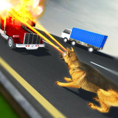 Crazy Dog Racing Simulation icon