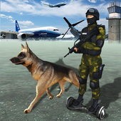 Police Sniffer Dog Chase Mission icon