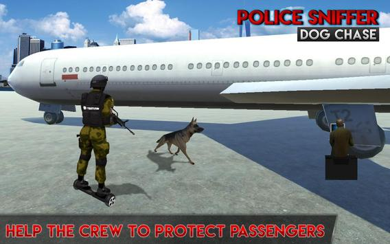 Police Sniffer Dog Chase Mission poster