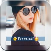 Insat Square Size  Snap Pic icon