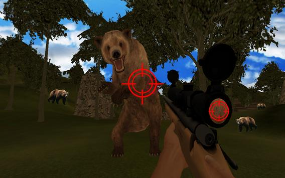 Jungle Bear Hunting Shoot 2017 apk screenshot
