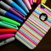 DIY phone case video icon
