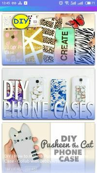 DIY phone case video apk screenshot