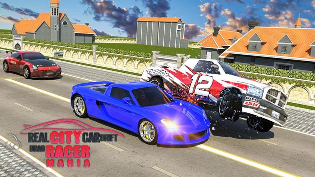 real city car drift 3d