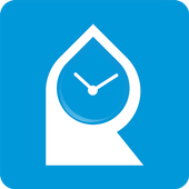 Rehydration - drink water daily icon