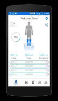 Rehydration - drink water daily screenshot 1