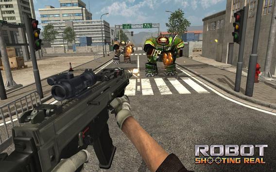 Robot Shooting Real apk screenshot