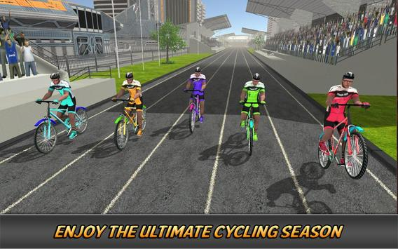 Extreme Freestyle Cycle Racing poster