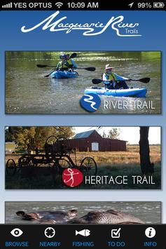 Macquaire Valley Trails poster