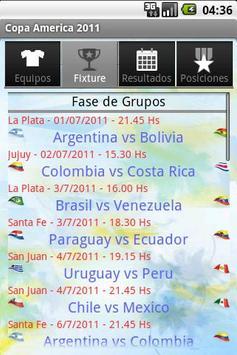 Copa America 2011 by Dudo apk screenshot
