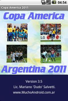 Copa America 2011 by Dudo poster