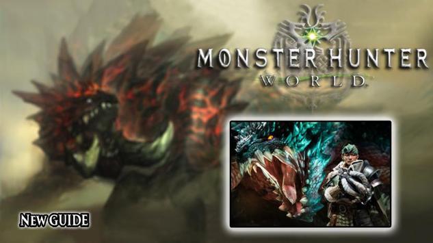 Monster Hunter World Guide poster