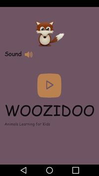 Woozidoo Animals Learning poster