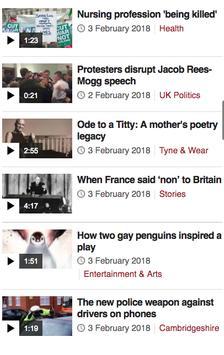 News BBC British screenshot 1