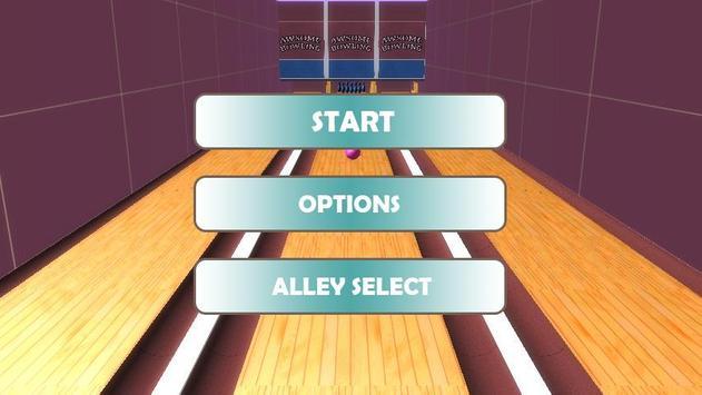 Bowling game apk screenshot