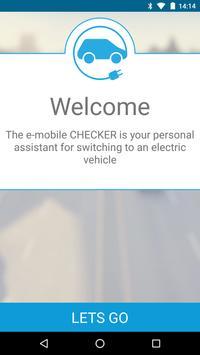e-mobile CHECKER poster