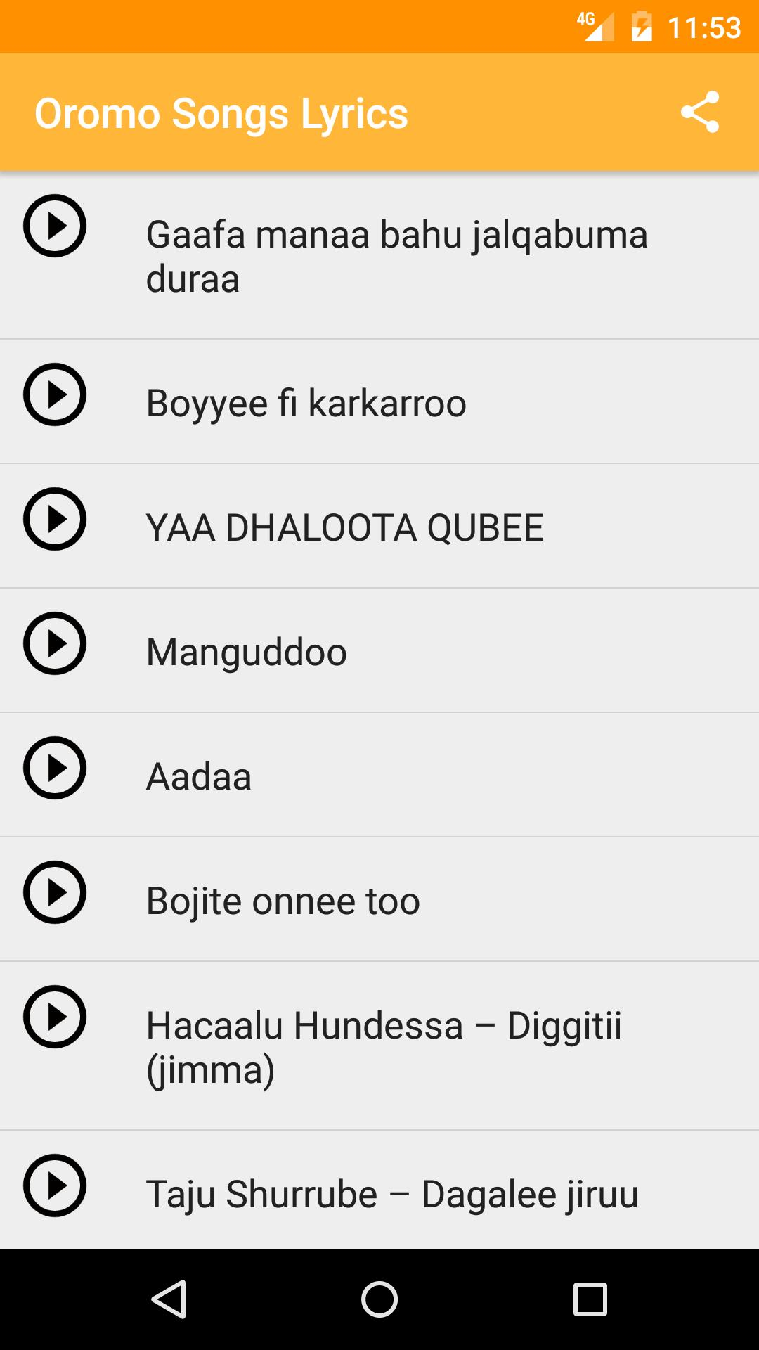Oromo Music 2017 for Android - APK Download