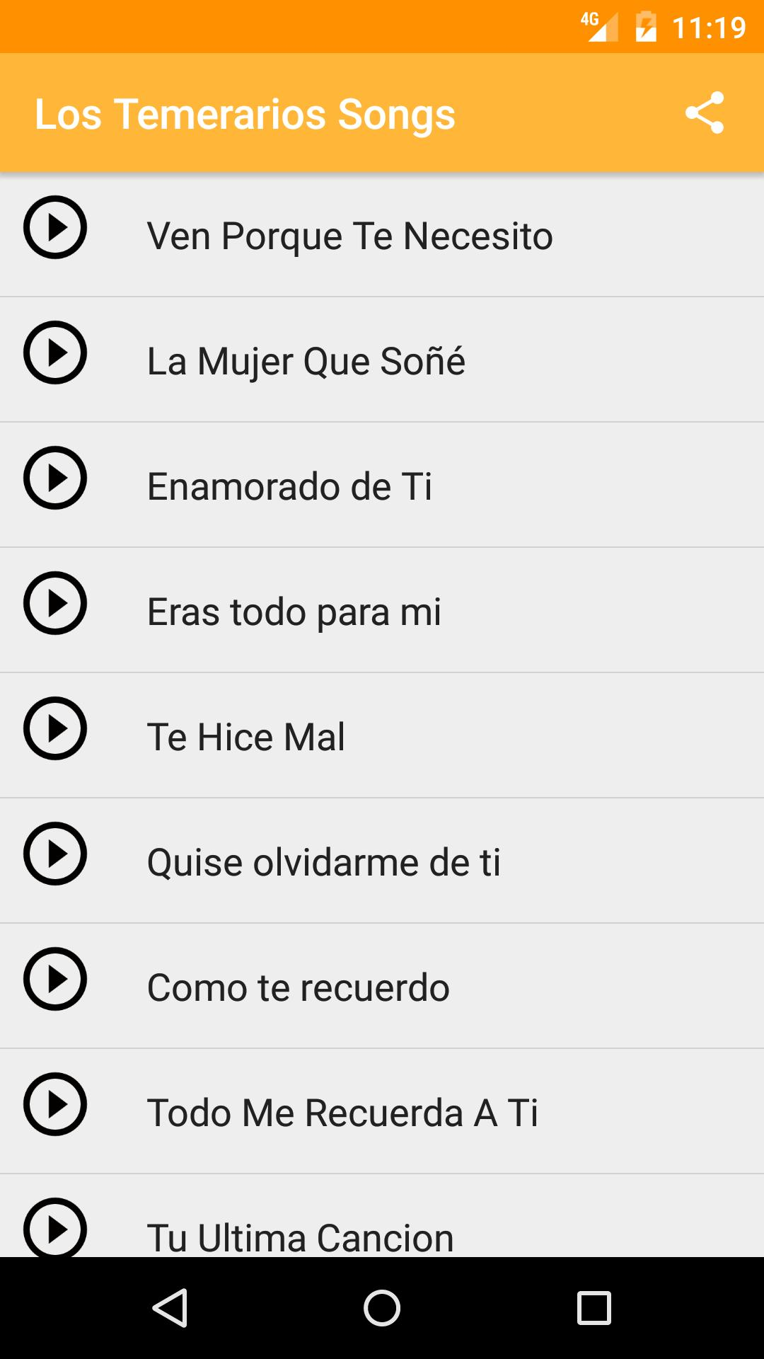 Los Temerarios Mix 70 Exitos For Android Apk Download
