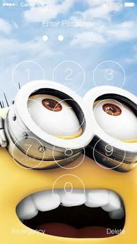 Minions Wallpapers HD Lock Screen poster