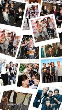 Poster One Direction Wallpapers HD Lock Screen