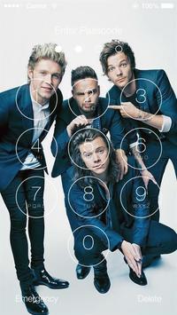 1 Schermata One Direction Wallpapers HD Lock Screen