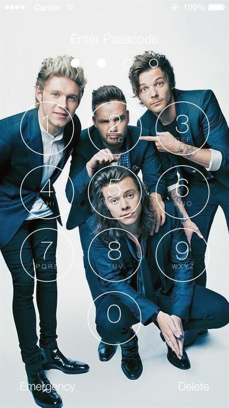 one direction wallpapers hd lock screen for android apk