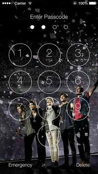2 Schermata One Direction Wallpapers HD Lock Screen
