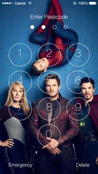 Avengers Infinity War Wallpapers HD Lock Screen poster