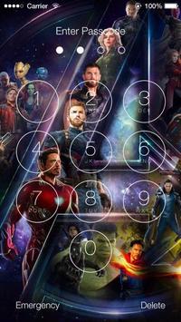 Avengers Infinity War Wallpapers HD Lock Screen screenshot 2