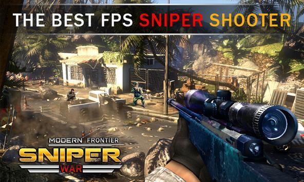 Modern Frontier Sniper War screenshot 8