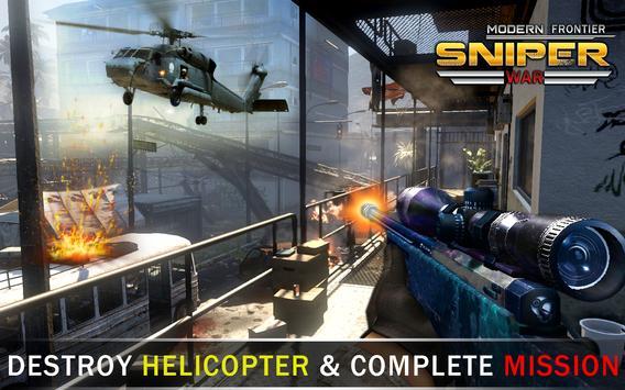 Modern Frontier Sniper War screenshot 9