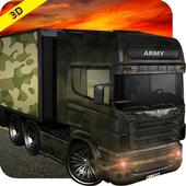 Army cargo truck 4x4 2017 icon