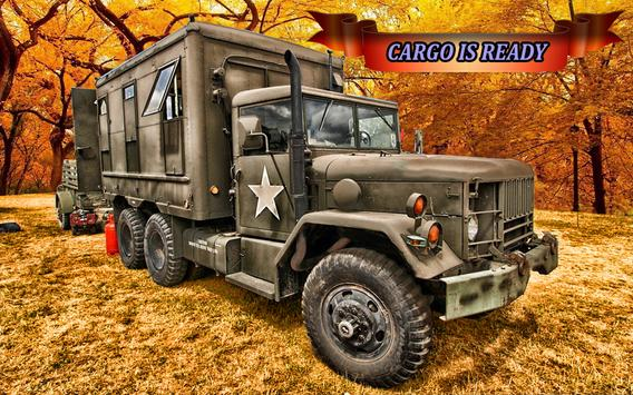 Army cargo truck 4x4 2017 poster