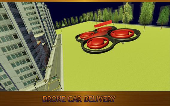 Futuristic Drone Car Delivery apk screenshot