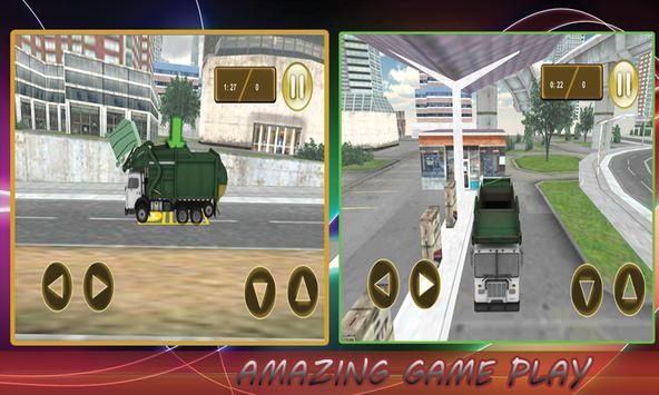 Garbage Truck Simulator screenshot 1