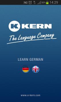 KERN Language Trainer German poster