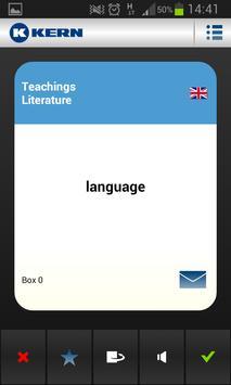 KERN Language Trainer German screenshot 3